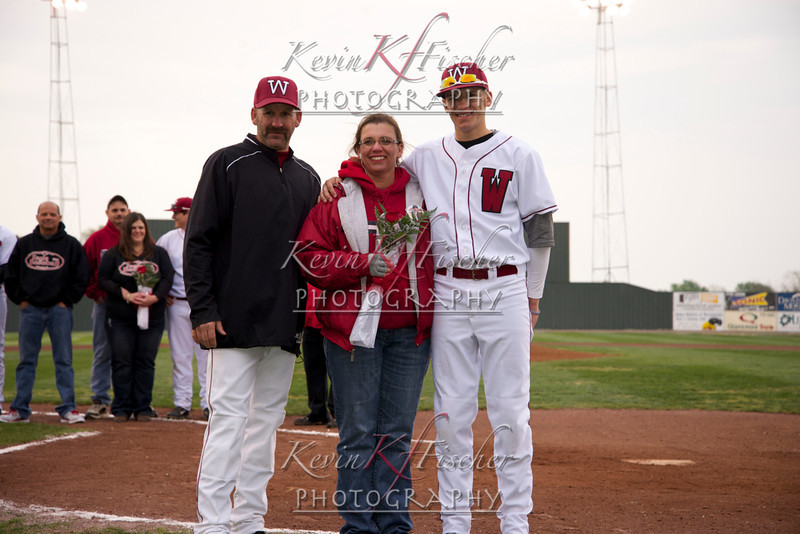 Eagle Baseball~Sr Night 2014