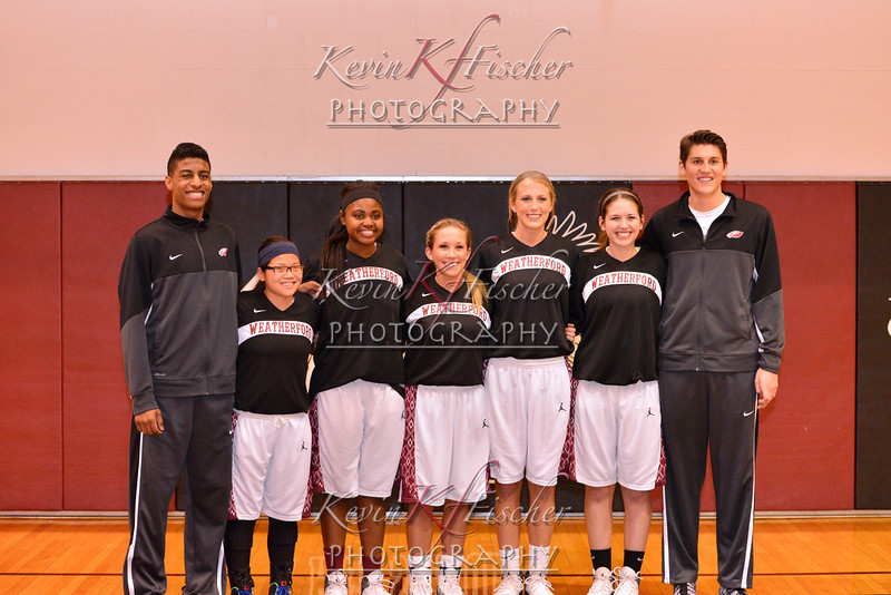 WHS Senior Night~2/17/14